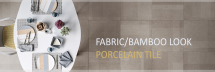 FABRIC/BAMBOO LOOK